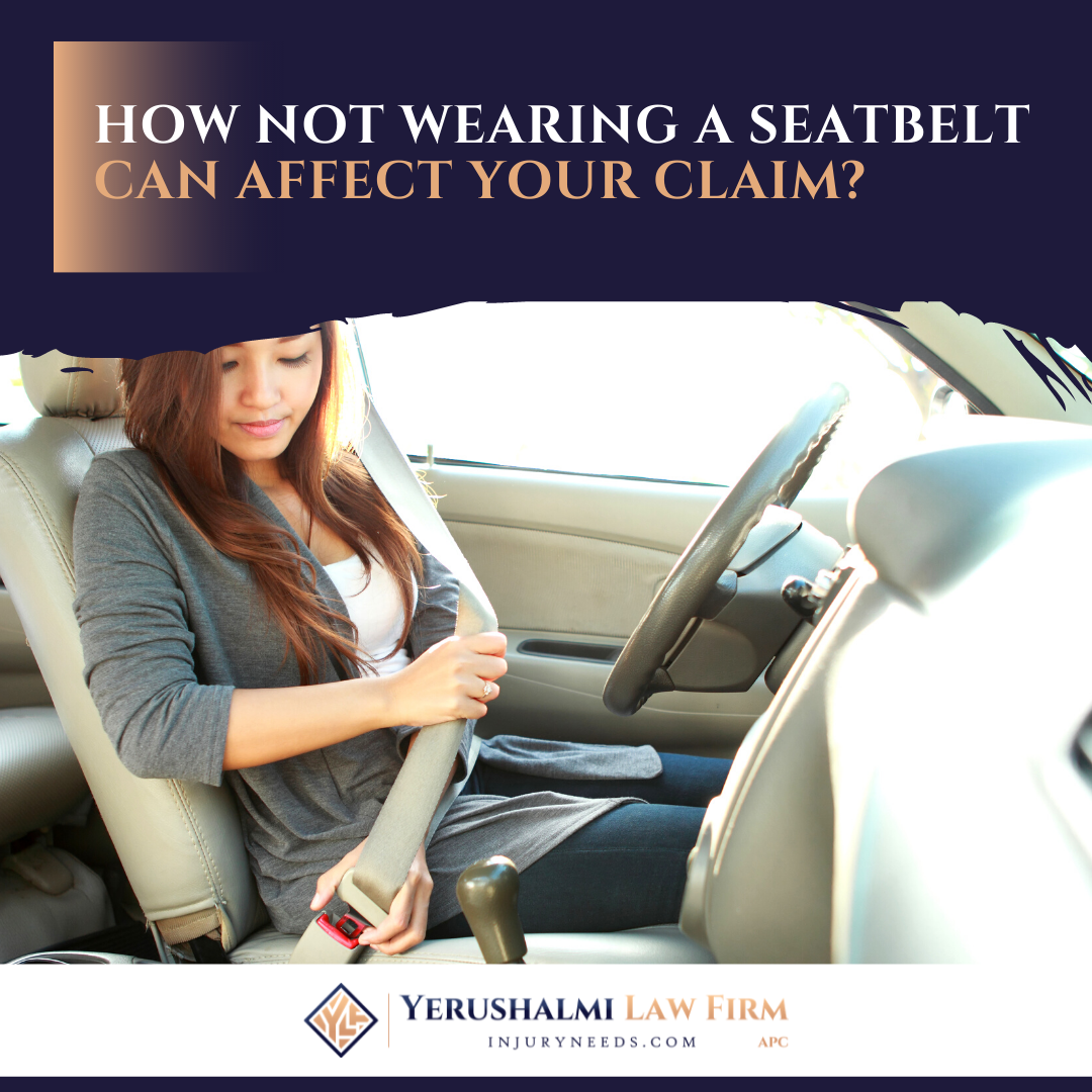 How not wearing a seatbelt can affect your claim ?
